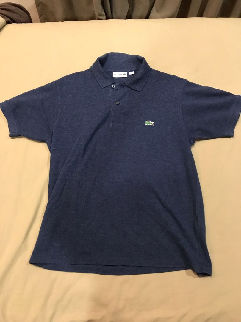 c456f3013 Lacoste Polo Tee (blue and black), Men's Fashion, Clothes, Tops on ...