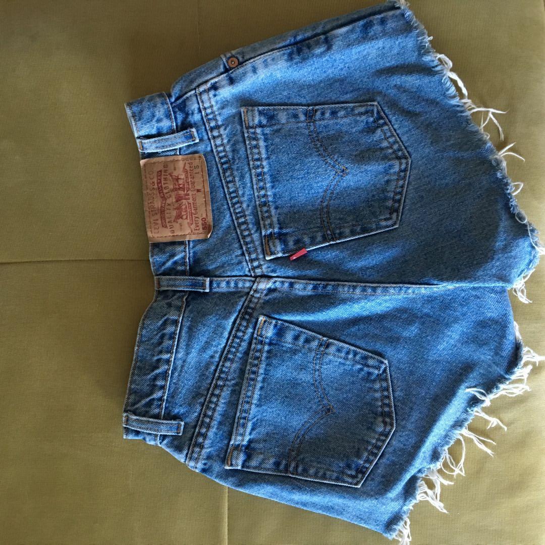 Levi vintage denim shorts