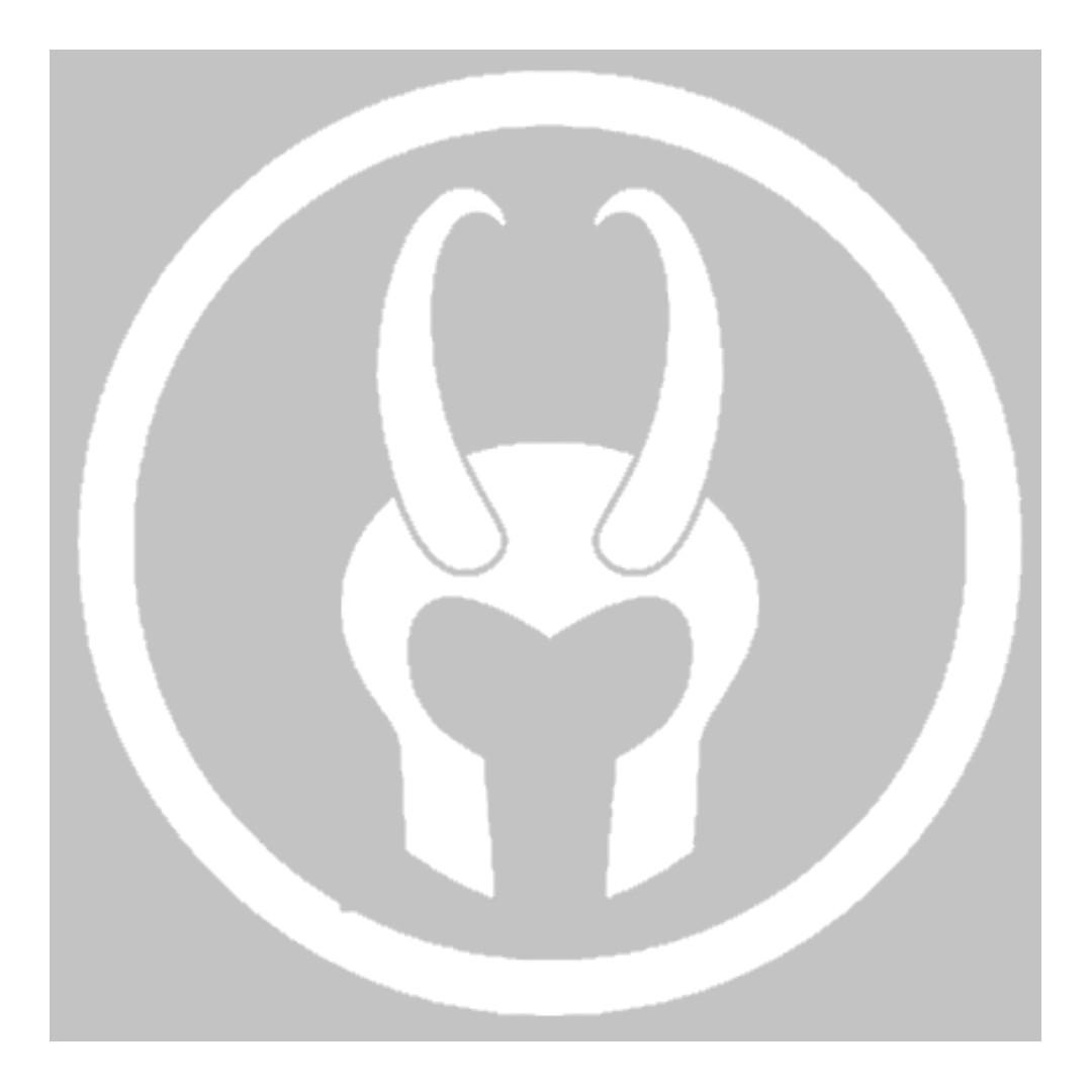 Marvel Loki Logo [Car Decal / Sticker Vinyl] (Free Mailing!)