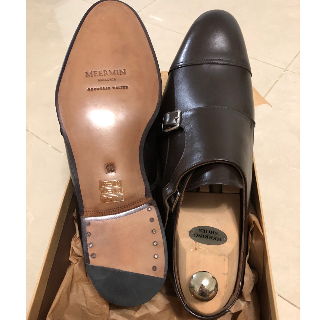 7dd64b6e2d8 Meermin Double Monk Classic Collection