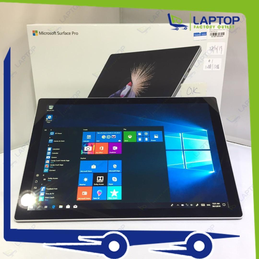 MICROSOFT Surface Pro 5 (i5-7/8GB/256GB)[Premium Preowned