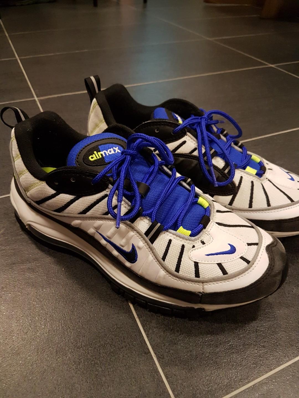pretty nice 705c5 cfa1b Nike Air Max 98 Racer Blue, Men's Fashion, Footwear ...