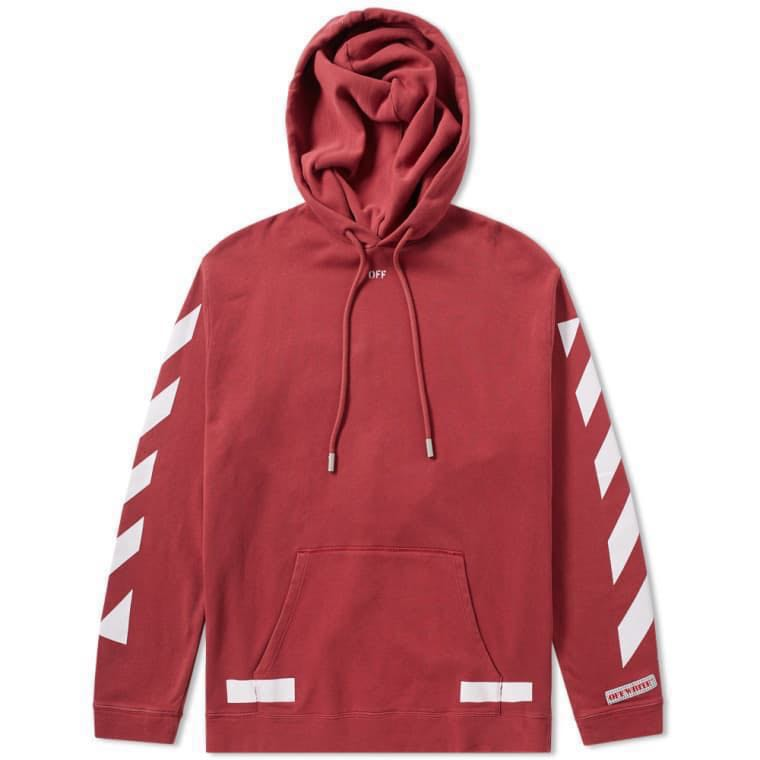 9529037191ad Off White Diagonal Arrow Oversized Hoodie
