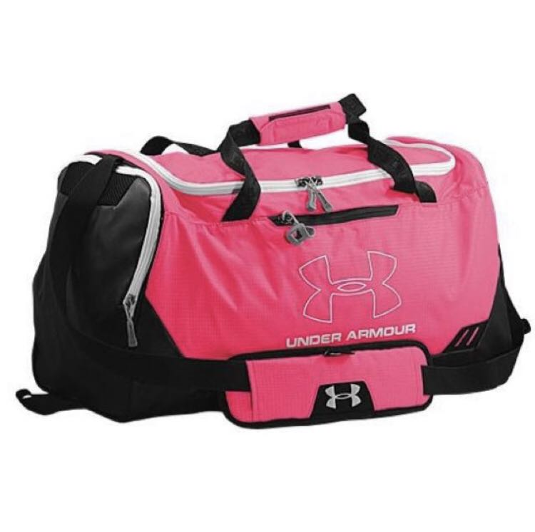 57b0000f4c05 pink under armour duffle bag
