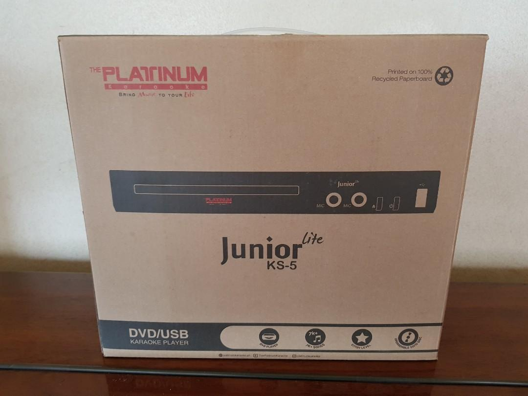 Platinum Karaoke Junior KS-5 Brand New