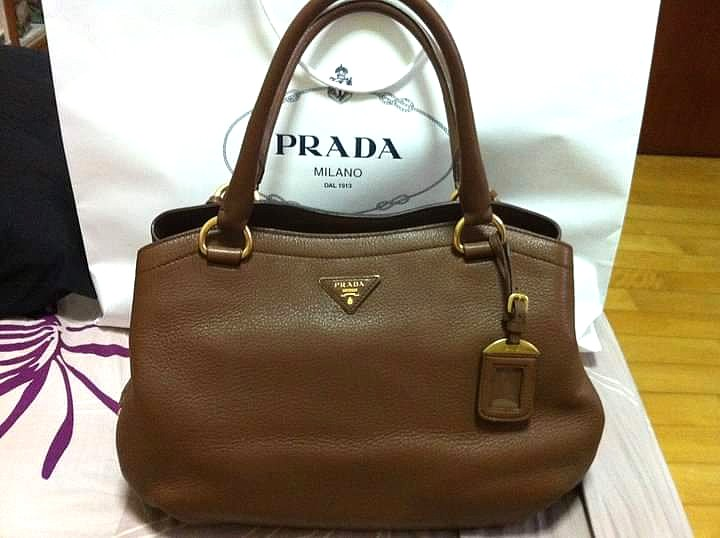 3e535f826839 Prada Deer Skin Handbag