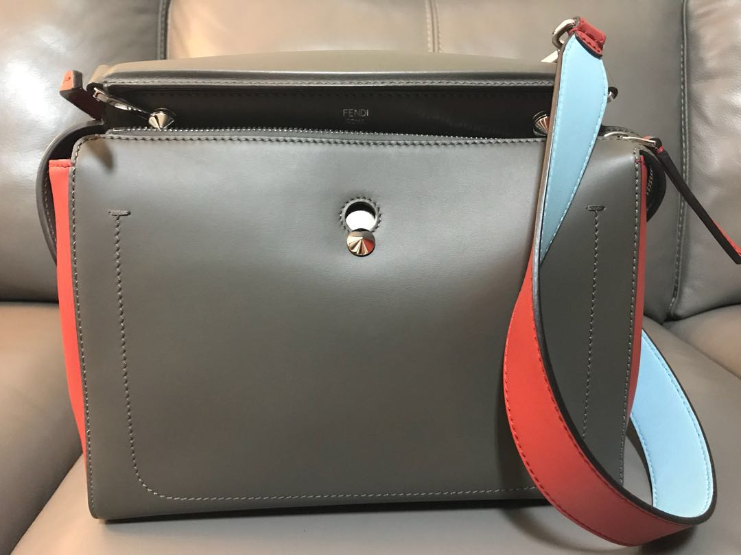 3ad7fad843 Preloved authentic Fendi Dotcom Leather Bag [reduced price], Luxury, Bags &  Wallets, Handbags on Carousell