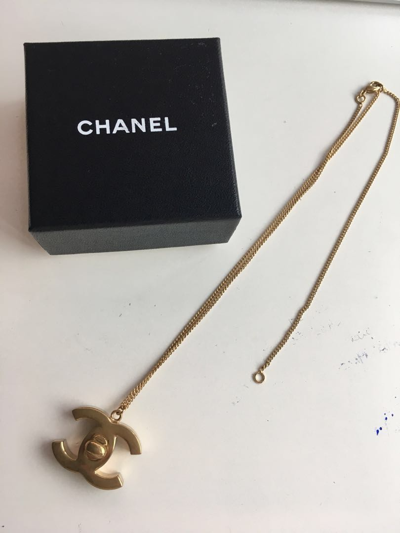 f01f1c28e Preloved Chanel Authentic Necklace, Luxury, Accessories, Others on ...