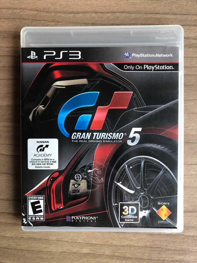 PS3 Gran Turismo 5, Toys & Games, Video Gaming, Video Games