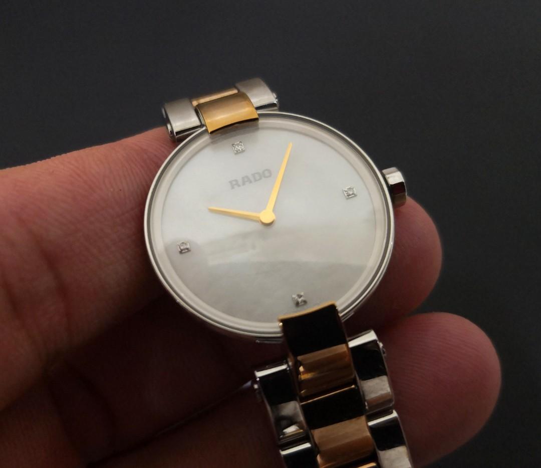 29618c1ef129 Rado Coupolse Diamond Ladies Quartz Watch
