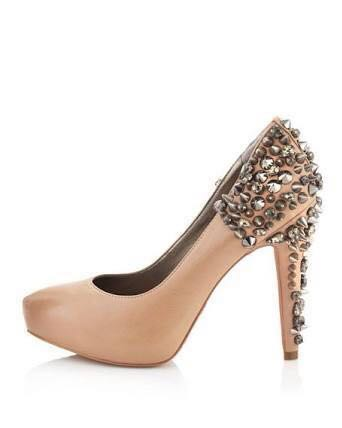fa31b7c1a Sam Edelman Spiked Heels Nude (new price)