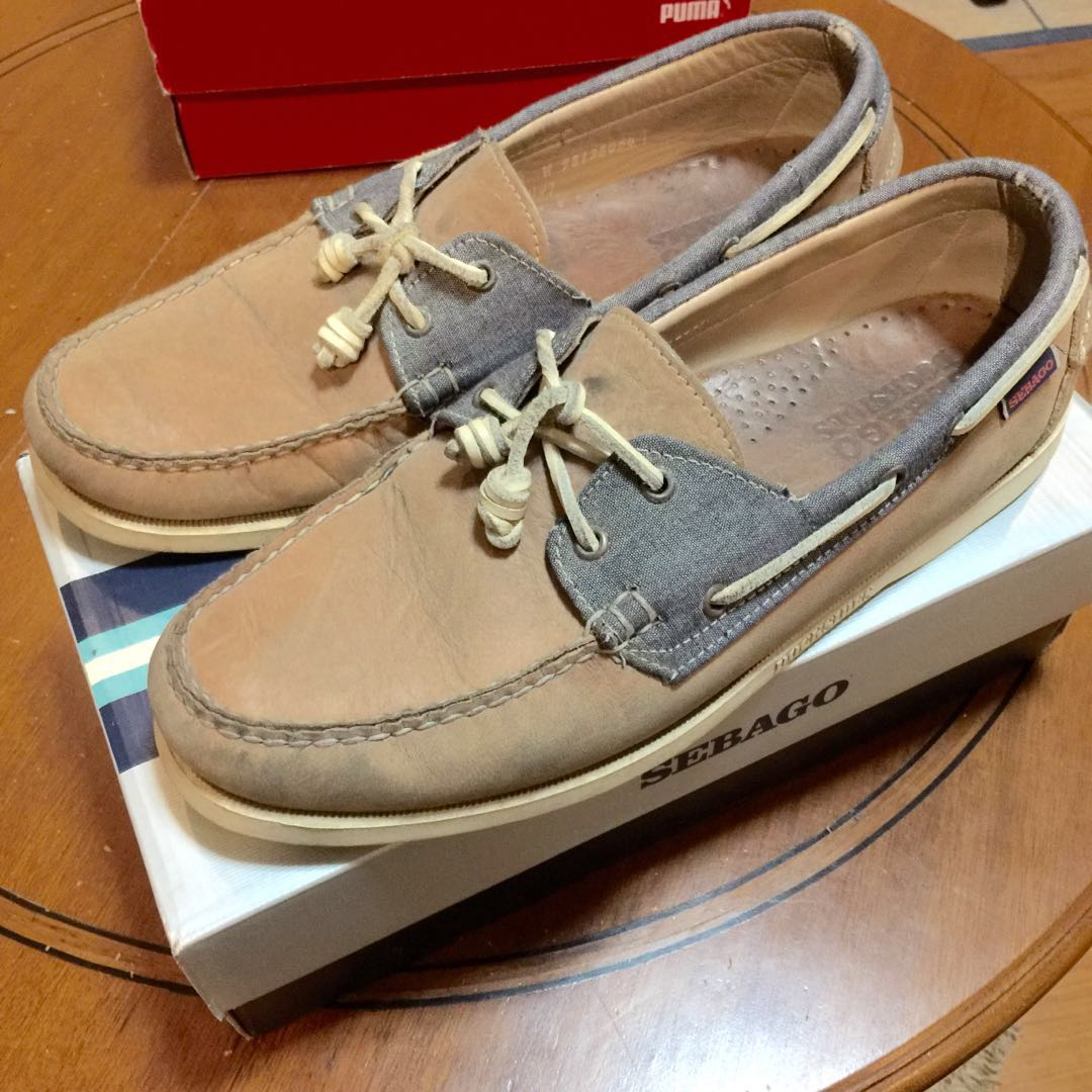 d0baa39a687 Sebago boat shoes brown