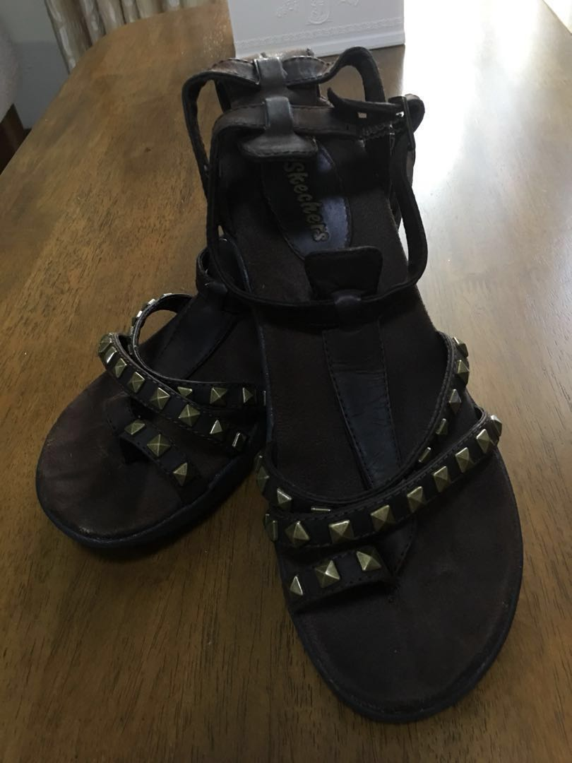 322eaef0a0cdc3 Skechers Studded Sandals