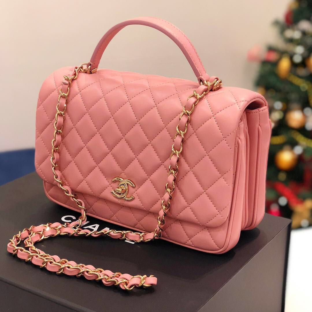 2caa60e11c52 ❌SOLD!❌ Rare Find! Chanel Citizen Chic Small Flap in Pink Lambskin ...