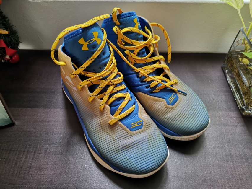50f127915e4e stephen Curry 2. authentic used sneaker. basketball shoes. under ...