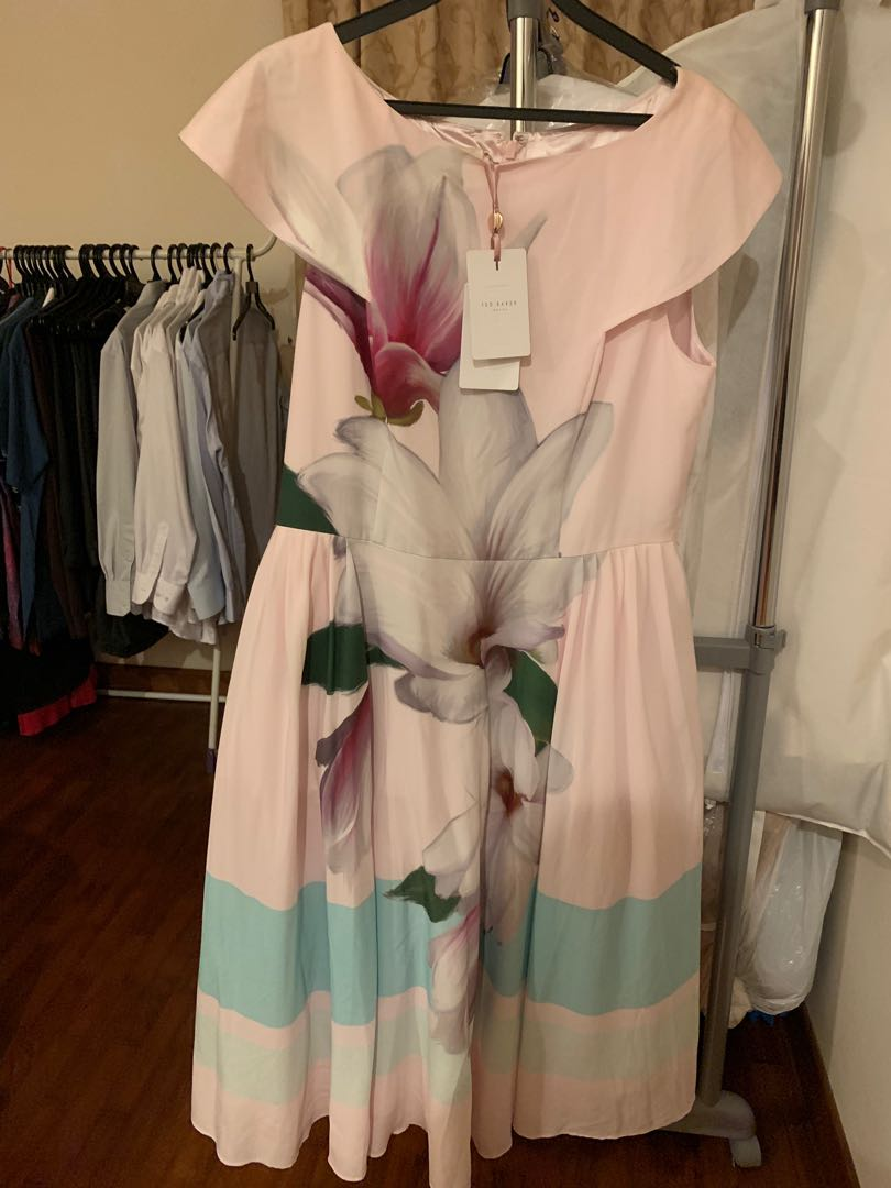 7a013bb0b Ted baker size 5 beautiful pink Magnolia dress is size 12 uk size 16 ...