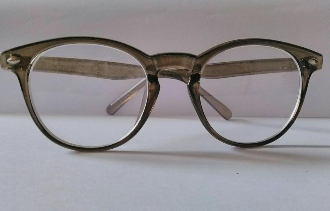 98f2977f93 CNY2019 Transparant Brown frame rayban