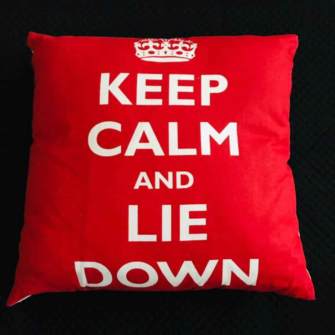 TYPO decorative cushions x 2 for $15