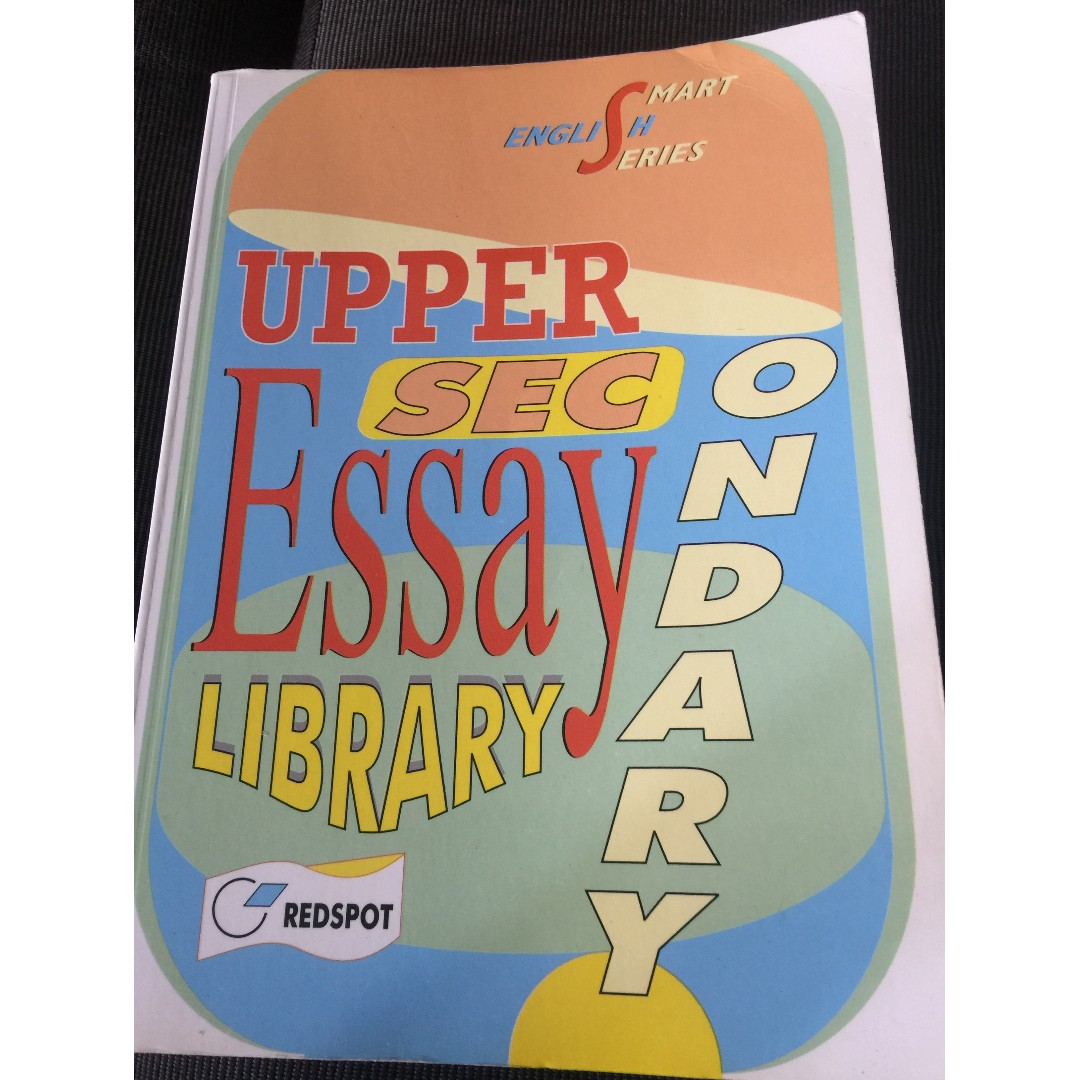 upper sec english essay books books  stationery textbooks  photo photo