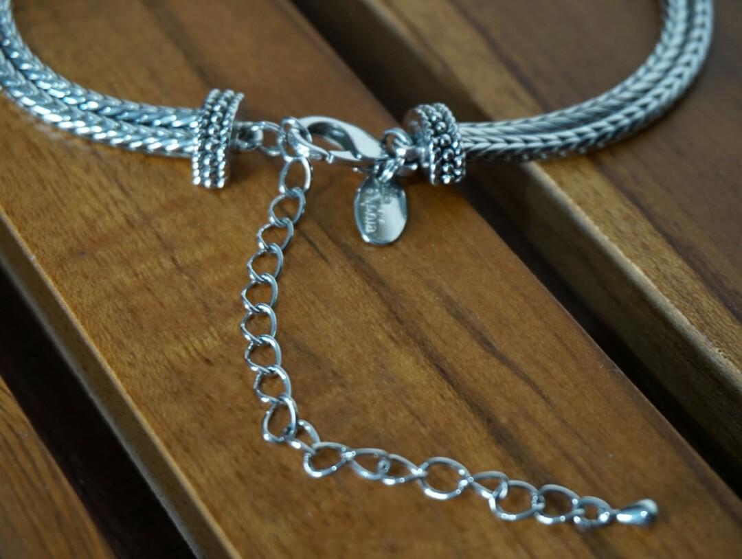 Valentine's Silver Tone Necklace