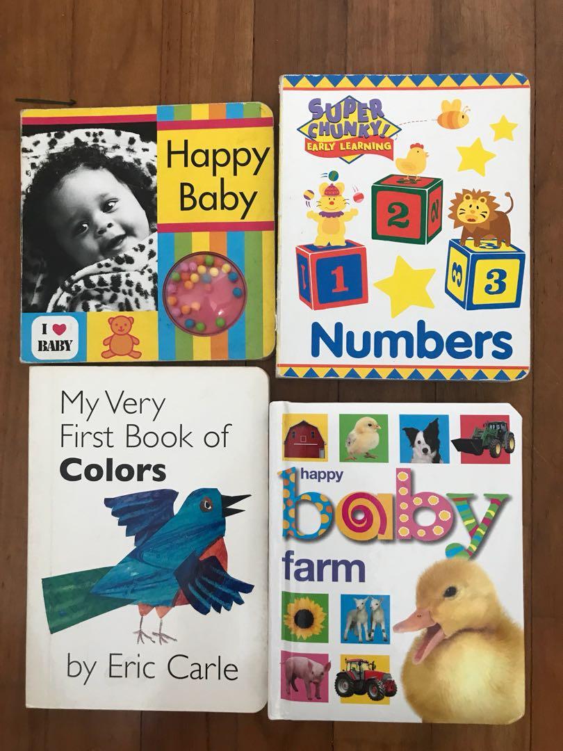 Various books for infant/ toddler