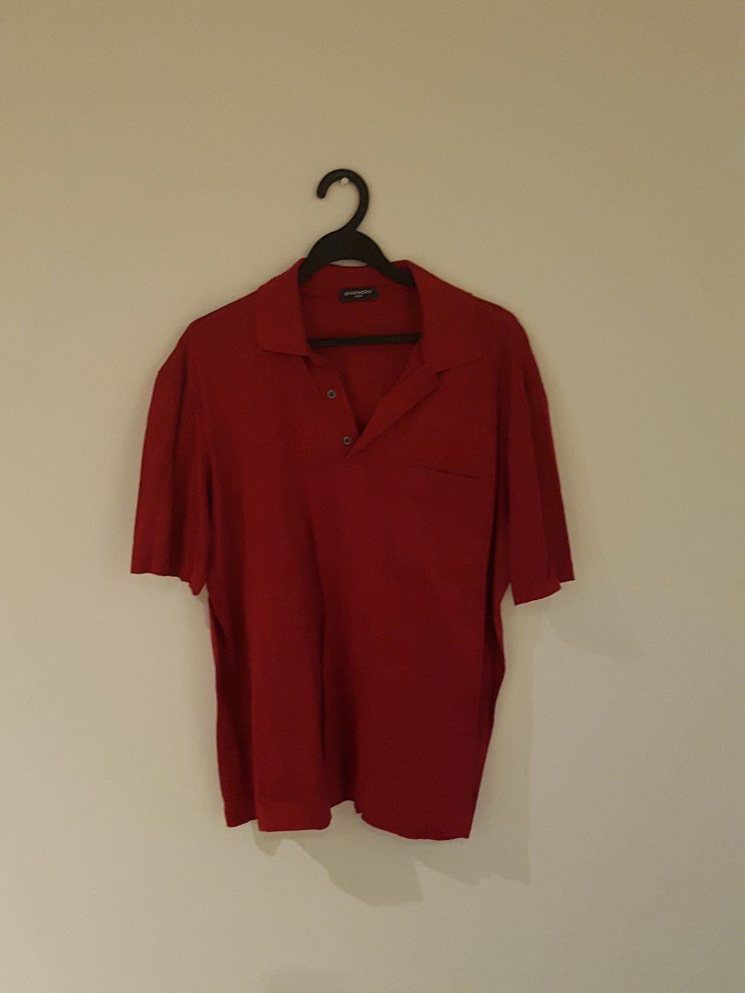 21a2c852 Vintage Givenchy Pattern Polo, Men's Fashion, Clothes, Tops on Carousell