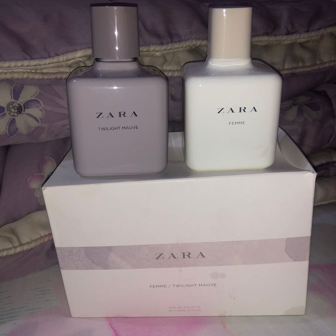 Zara Eau De Toilette Health Beauty Perfumes Nail Care Others