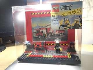 LEGO 消防相架