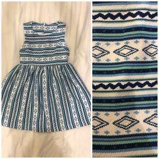 Brand New Aztec Print Dress #CNY888
