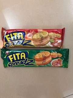 🚚 Fita 夾心餅-綠色辣味鮪魚-紅色培根 (缺貨中)