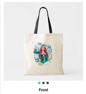 🚚 Mera Aquaman Canvas Tote Bag