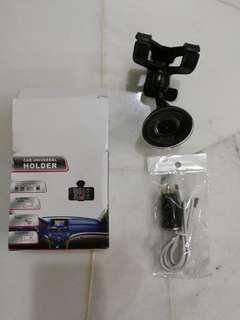 Car Universal holder + cable + car charger