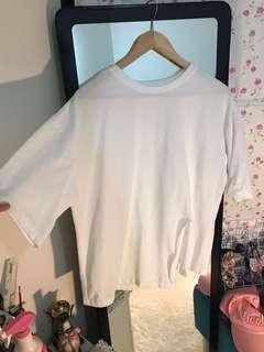 CNY sale- trendy White top