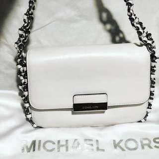 Authentic Michael Kors shoulder flap bag