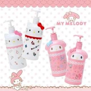 Hello Kitty Or Melody Shampoo Bottle