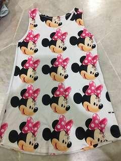 Mickey skirt 4-5yrs