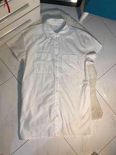 CNY sale- White shirt dress