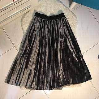 CNY sale- metallic skirt