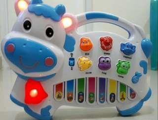 Baby & kids musical piano / mainan edukasi bayi & anak