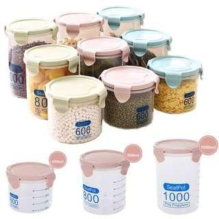 ♨️ Canisters ♨️ Seal Food BPA FREE Box Bottle Containers