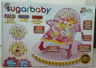 Sugar baby bouncer my rocker 3 stages - Tea time (Pink)