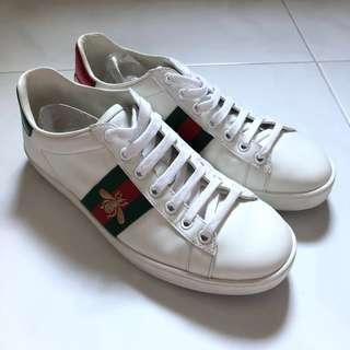 aa58fbe3b18  Preloved  Authentic Gucci Ace Sneakers