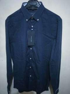 Kemeja formal zara man original and new