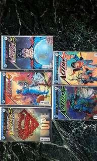 Complete set of Oz effect Action comics (Lenticular covers)