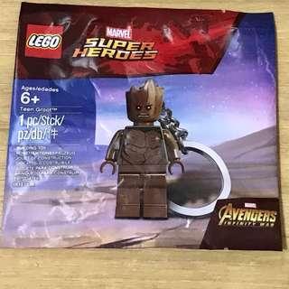 🚚 Lego Marvel Super Heros: Teen Groot keychain