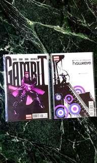 Gambit & Hawkeye #1 set