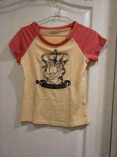 🚚 加菲貓T恤(3樣100