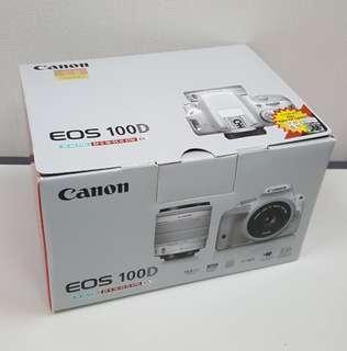 Canon 100D 1機2鏡
