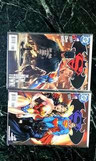 Batman superman #8 set
