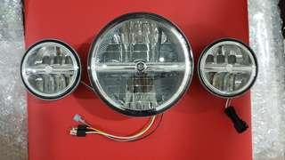 New original harley LED headlamp and auxiliary lamp